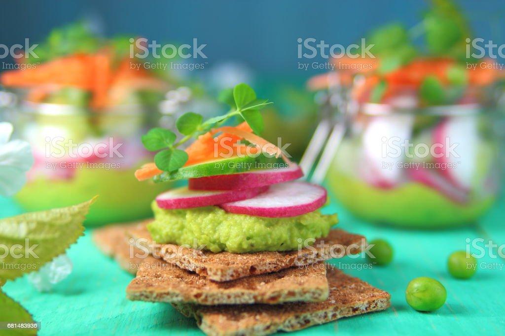 тост с авокадо royalty-free stock photo