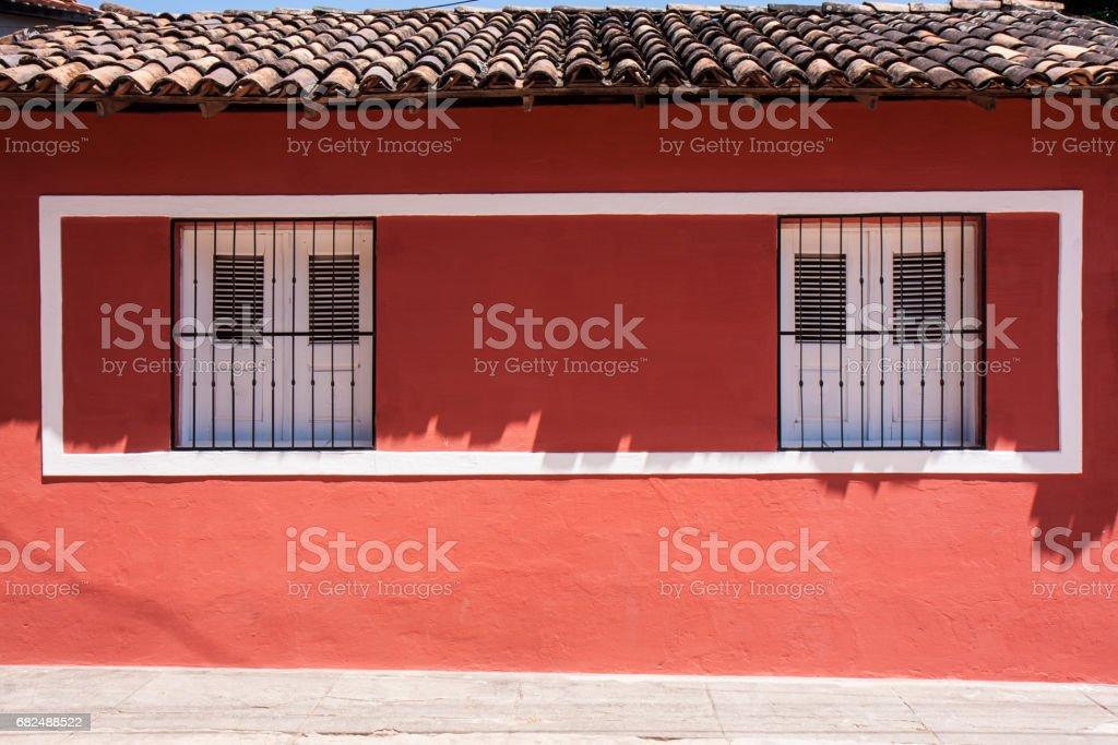 バレイリニャスの建物の窓 royalty-free stock photo