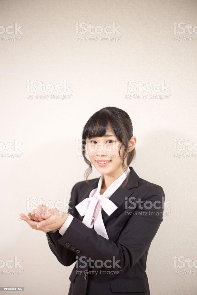 笑顔の女性 foto de stock royalty-free
