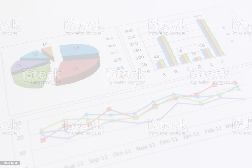 ビジネスイメージ グラフ royalty-free 스톡 사진