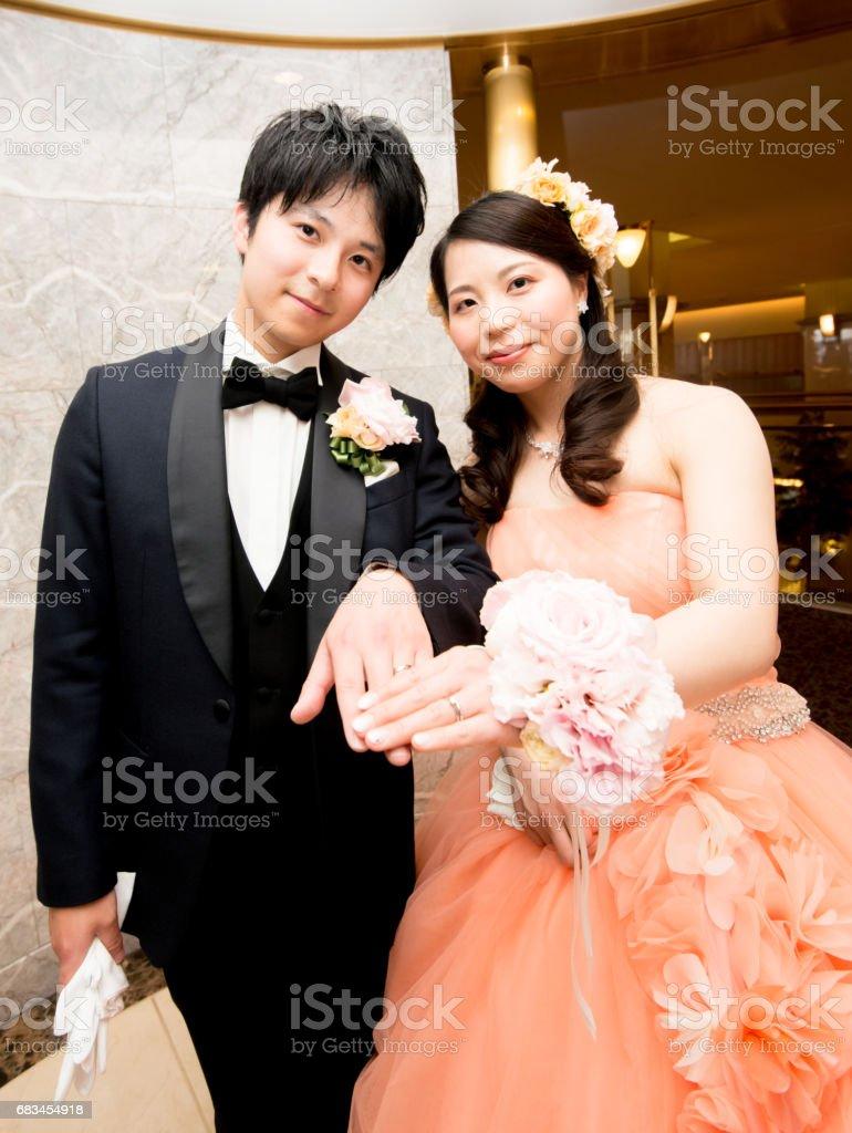 結婚式日本人照片檔及更多人照片 Istock