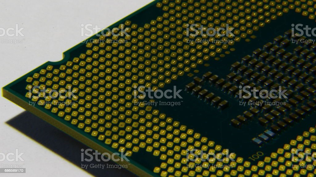 CPU royalty-free stock photo