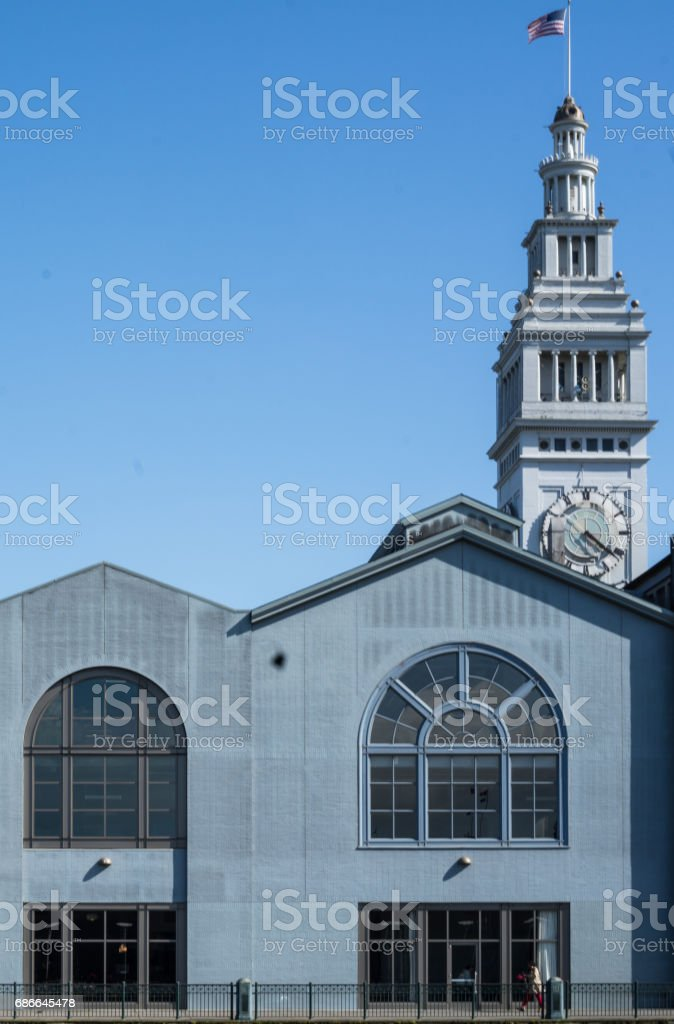 FERRY BUILDING royalty-free stock photo