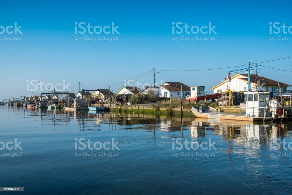 BASSIN D'ARCACHON (France) stock photo