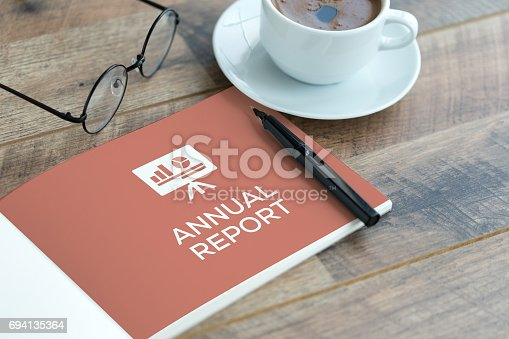 932100364 istock photo ANNUAL REPORT CONCEPT 694135364