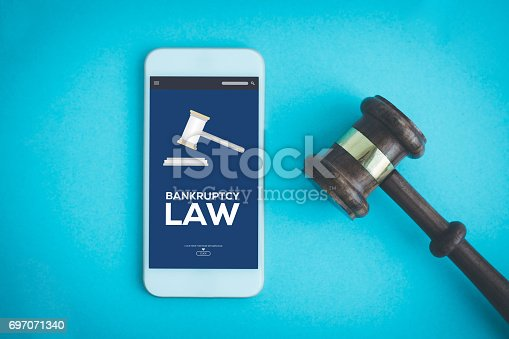 612372074 istock photo BANKRUPTCY LAW CONCEPT 697071340