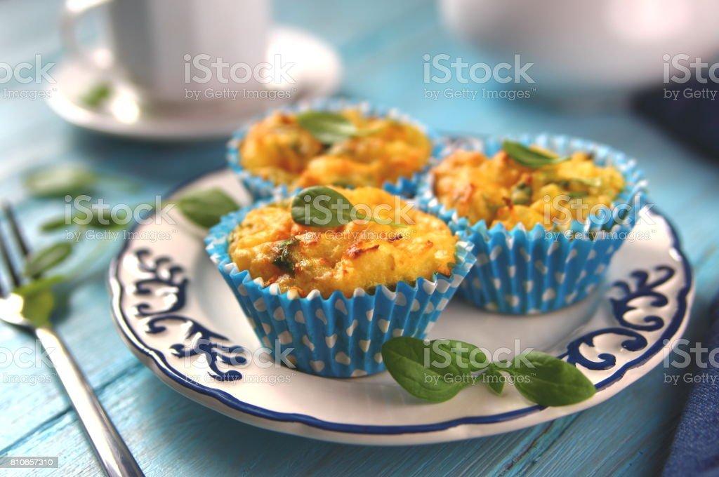 картофельный кекс stock photo