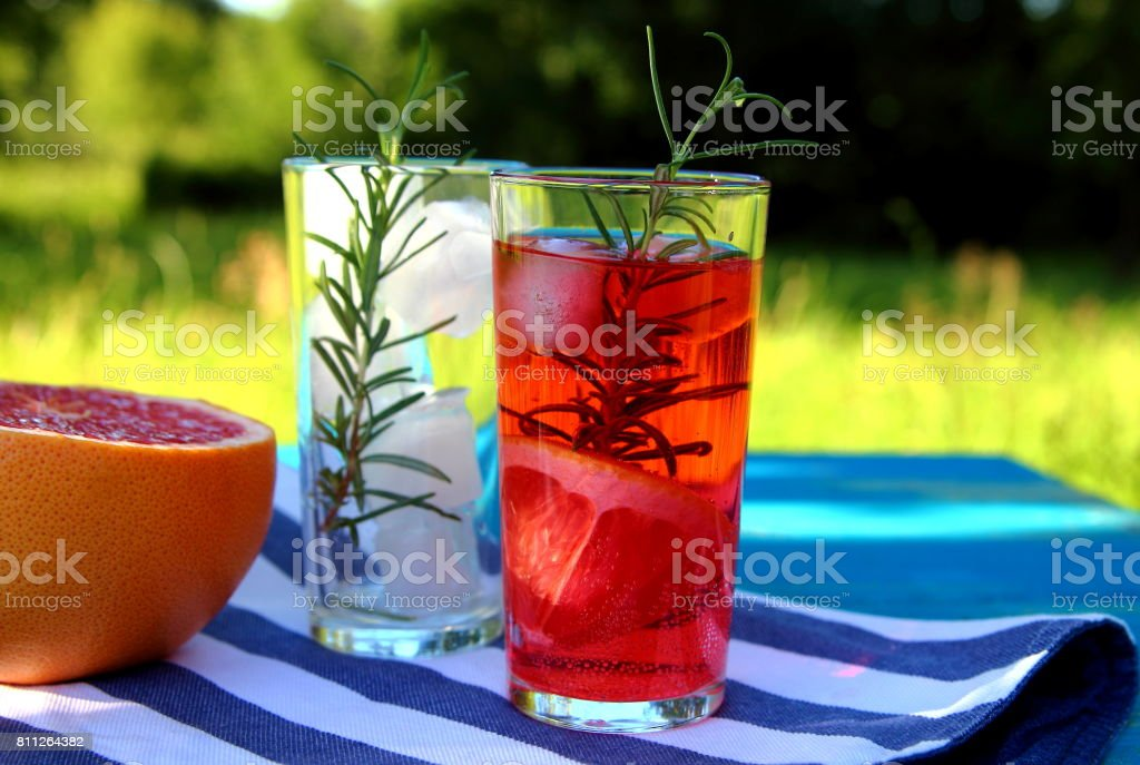 грейпфрутовый лимонад stock photo