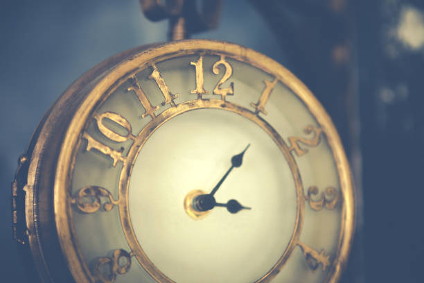 古い時計。 ストックフォト