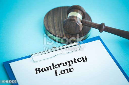 612372074 istock photo BANKRUPTCY LAW CONCEPT 814990332