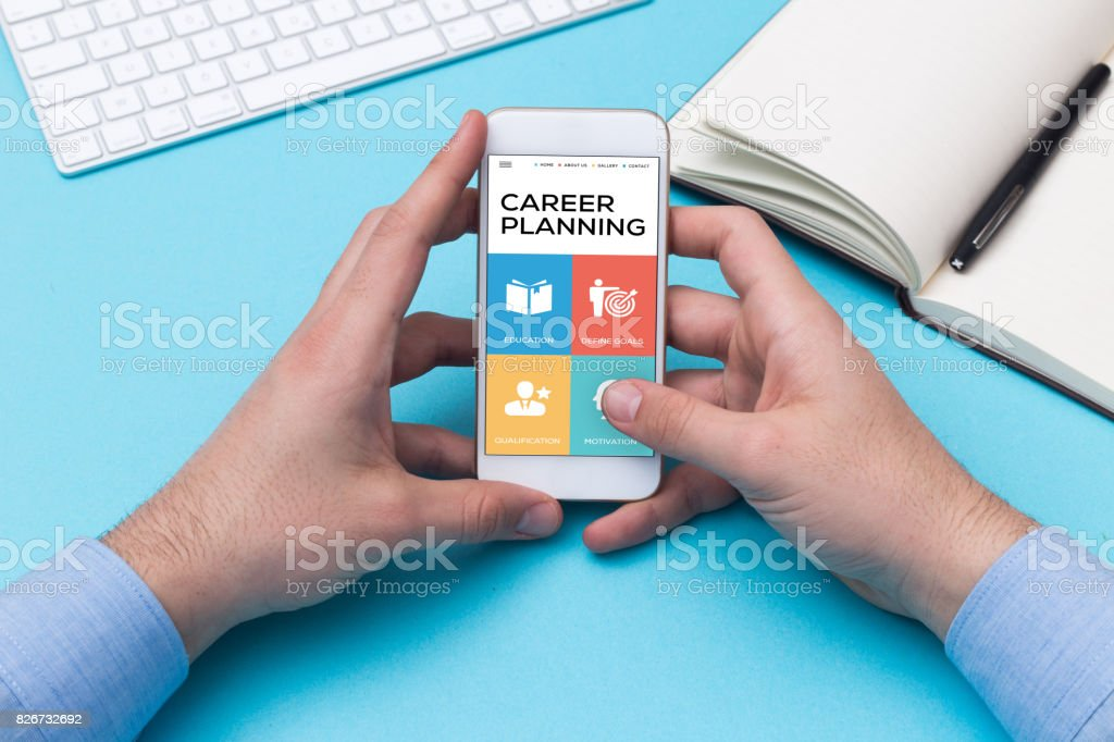 CAREER PLANNING CONCEPT stock photo