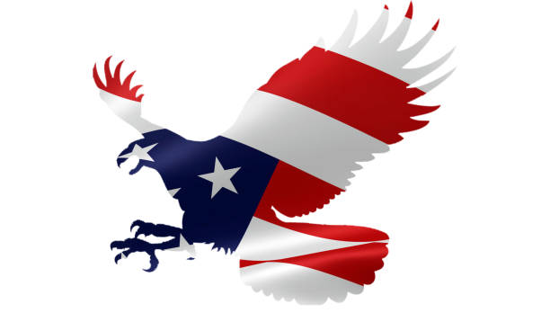 Royalty Free Red White And Blue Eagle Background Pictures Images