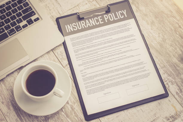 INSURANCE POLICY CONCEPT stock photo