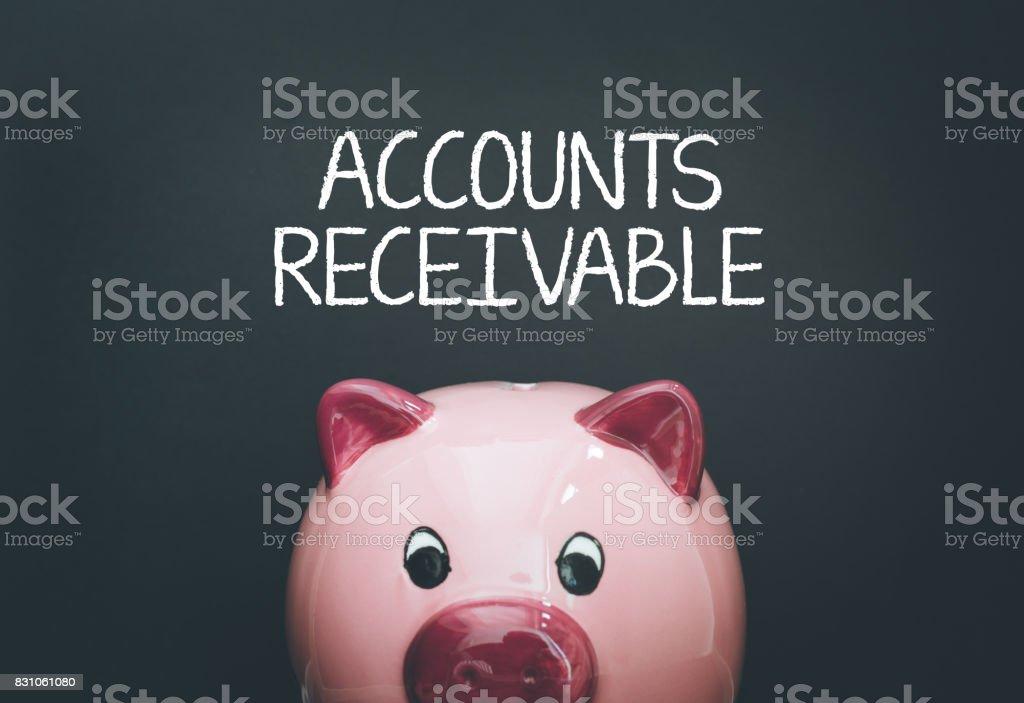 ACCOUNTS RECEIVABLE CONCEPT stock photo