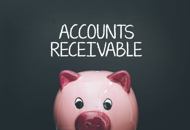 accounts receivable konzept - hauptbuch stock-fotos und bilder