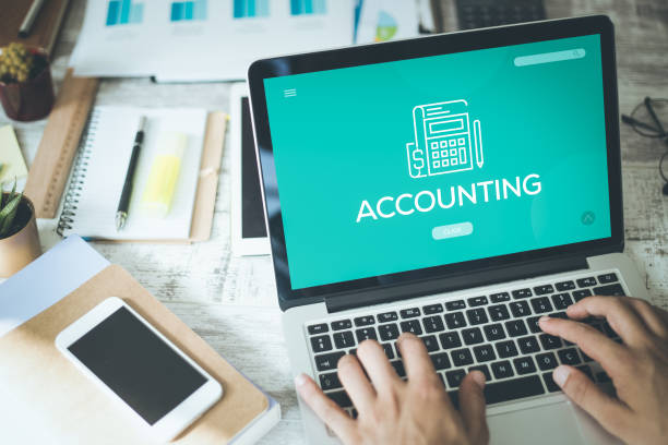 accounting concept - accountancy stock photos and pictures