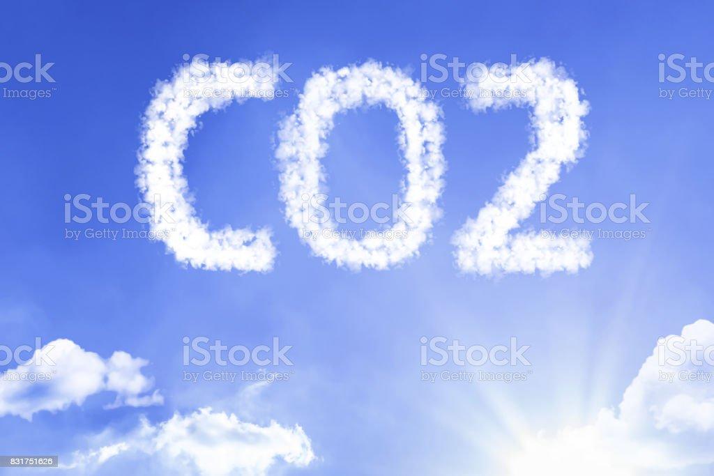CO2 - foto de stock