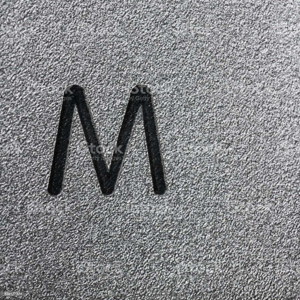M stock photo