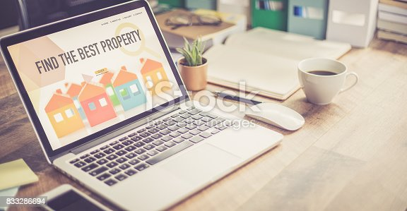 istock FIND THE BEST PROPERTY CONCEPT 833286694