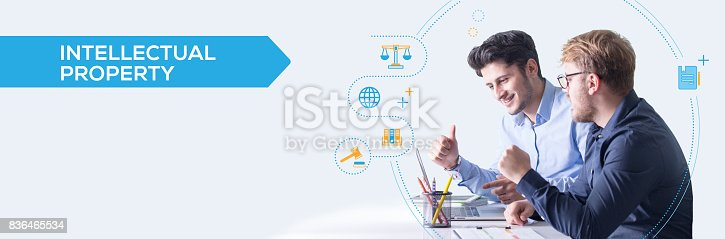 istock INTELLECTUAL PROPERTY CONCEPT 836465534