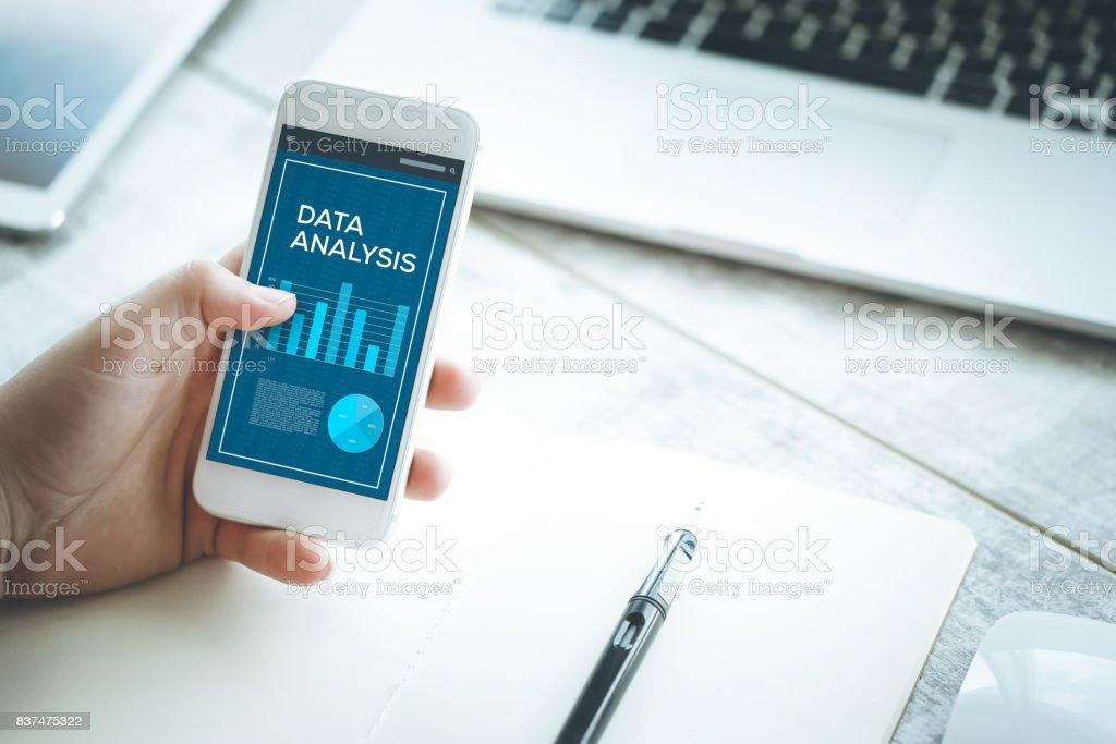 DATA ANALYSIS CONCEPT stock photo