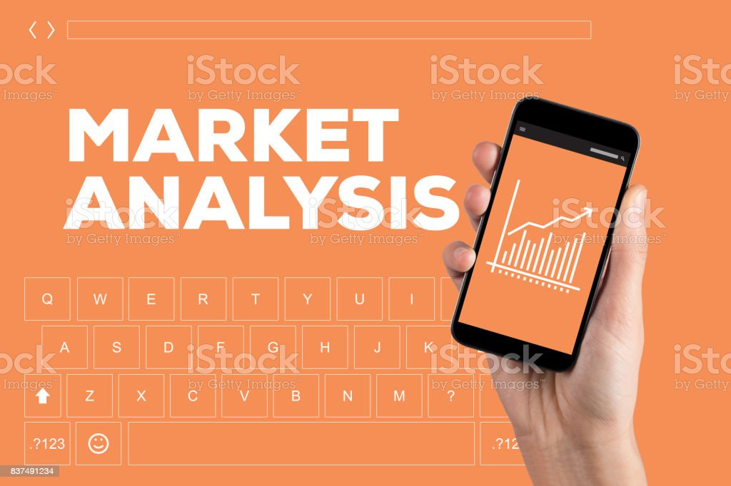 MARKET ANALYSIS CONCEPT stock photo