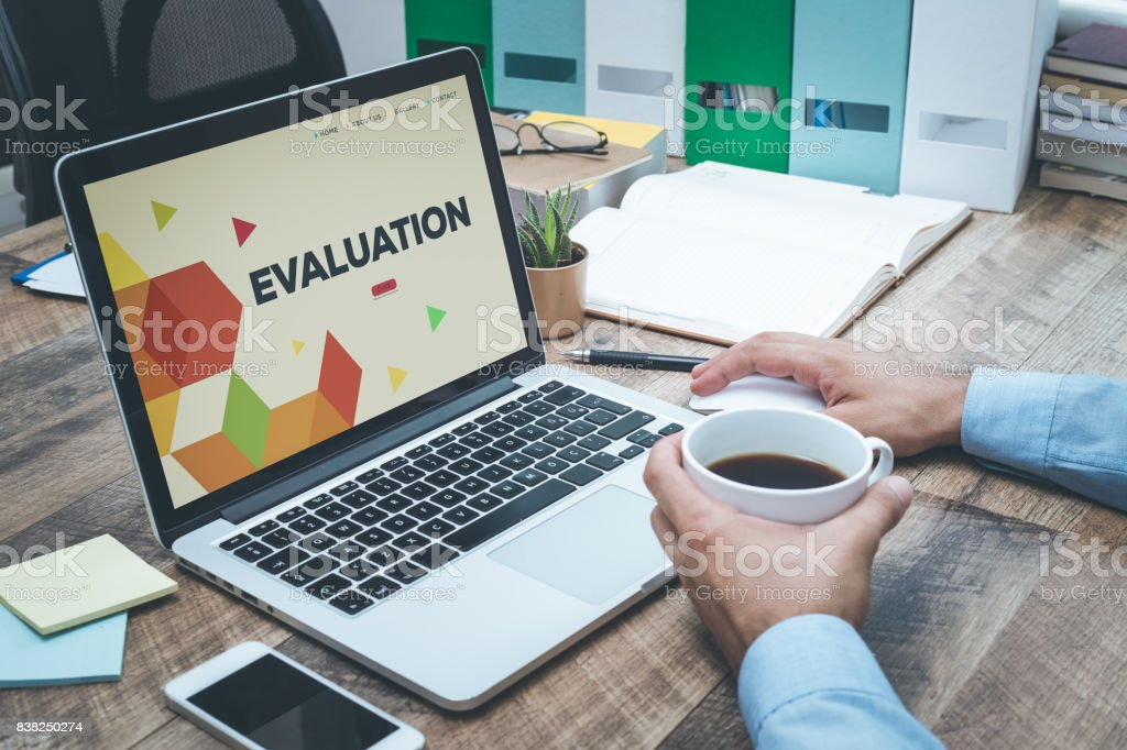 EVALUATION CONCEPT royalty-free stock photo