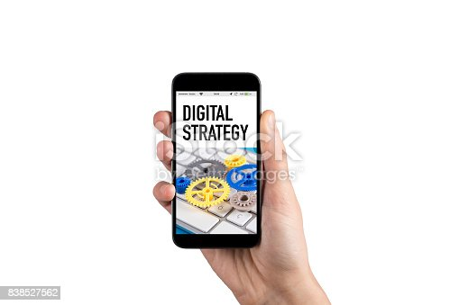 istock DIGITAL STRATEGY CONCEPT 838527562