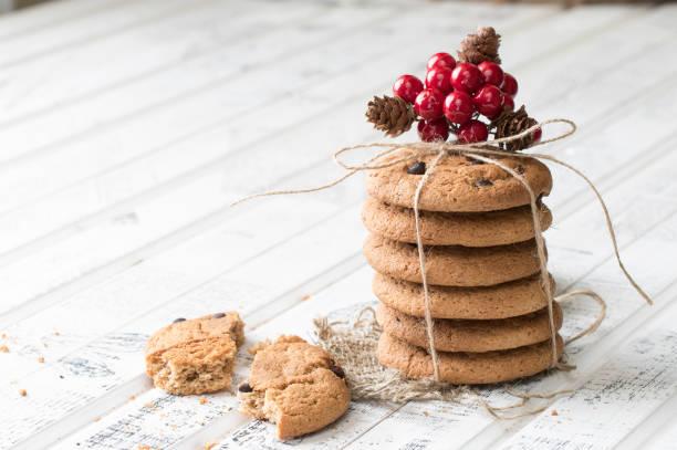 овсяное печенье - low carb kekse stock-fotos und bilder