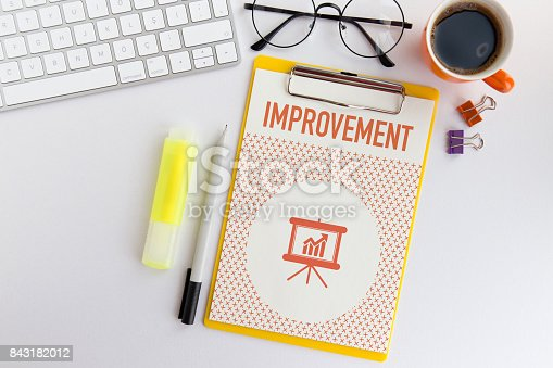 istock IMPROVEMENT CONCEPT 843182012