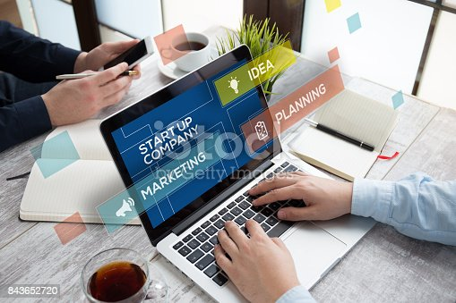 istock START UP COMPANY CONCEPT 843652720
