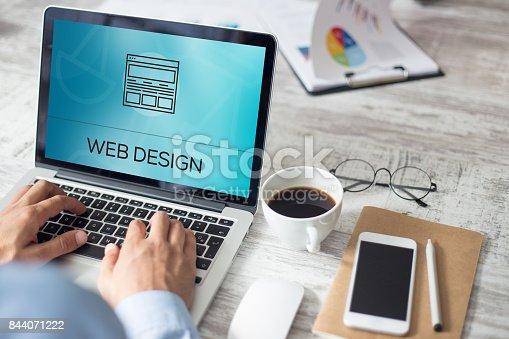 istock WEB DESIGN CONCEPT 844071222