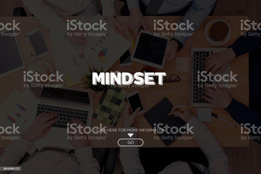 MINDSET CONCEPT stock photo