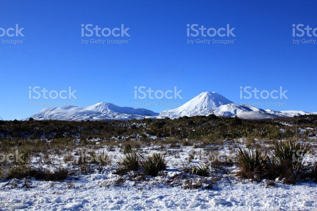 トンガリロ国立公園 stock photo