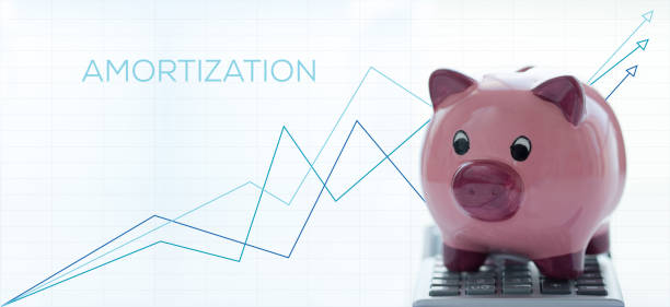 AMORTIZATION CONCEPT AMORTIZATION CONCEPT amortize stock pictures, royalty-free photos & images