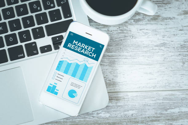 MARKET RESEARCH CONCEPT stock photo