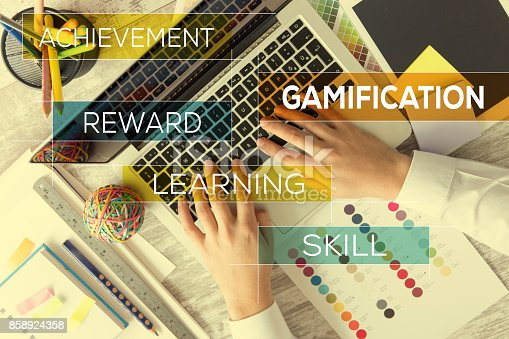 istock GAMIFICATION CONCEPT 858924358