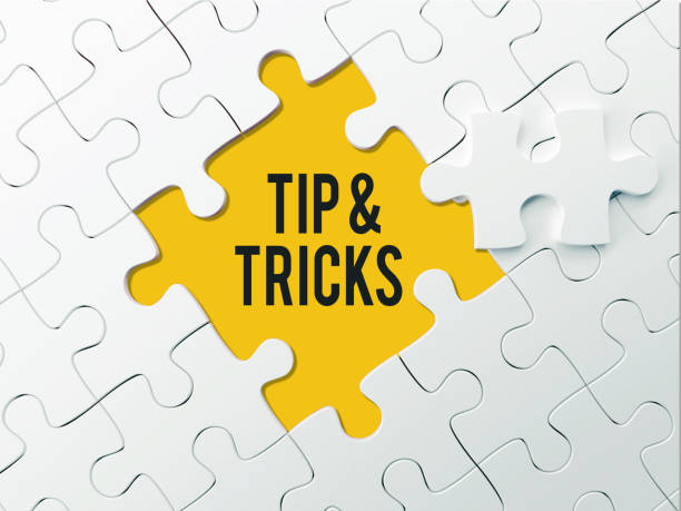 TIP & TRICKS - PUZZLE CONCEPT TIP & TRICKS - PUZZLE CONCEPT magic trick stock pictures, royalty-free photos & images