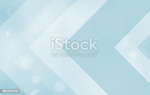 istock ARROW BLUE BACKGROUNDS 862382532