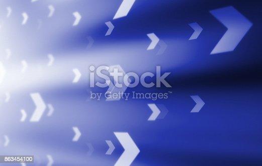 istock ARROW BACKGROUNDS 863454100