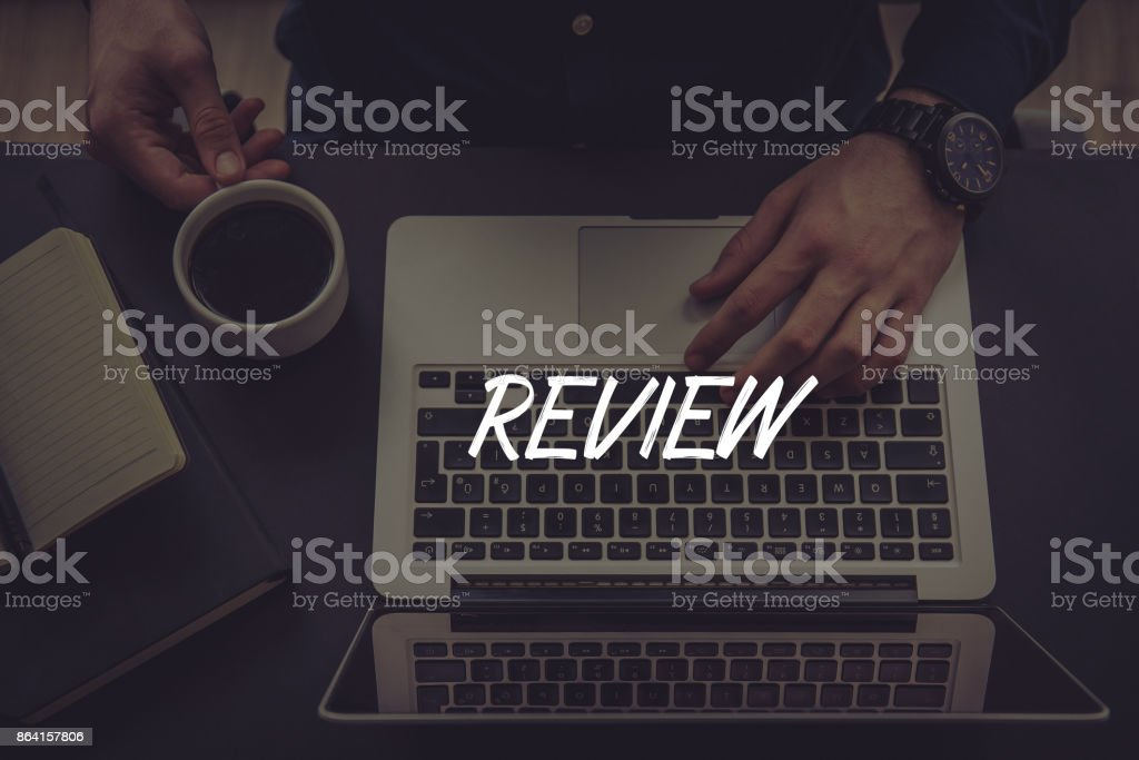 REVIEW CONCEPT royalty-free stock photo