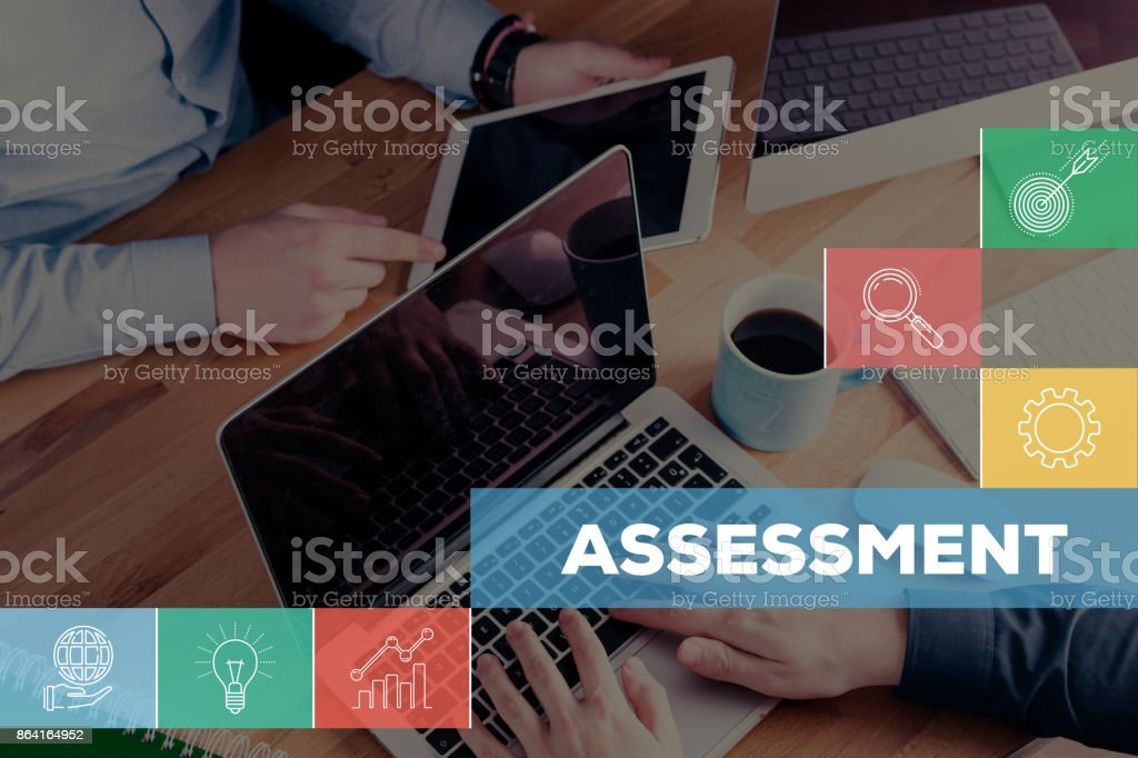 ASSESSMENT CONCEPT royalty-free stock photo