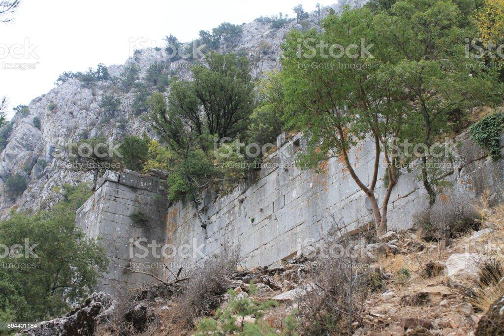 Термессос античный город stock photo