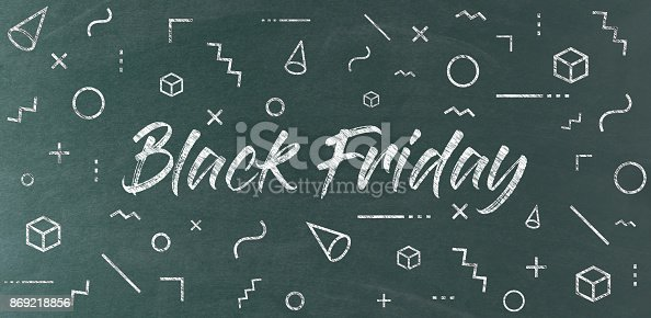istock BLACK FRIDAY CONCEPT 869218856