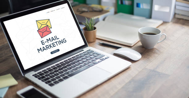 E-MAIL MARKETING CONCEPT stock photo