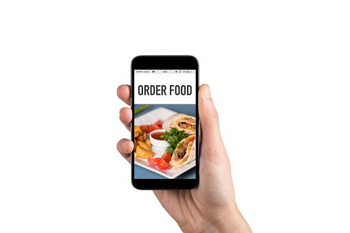 ORDER FOOD CONCEPT