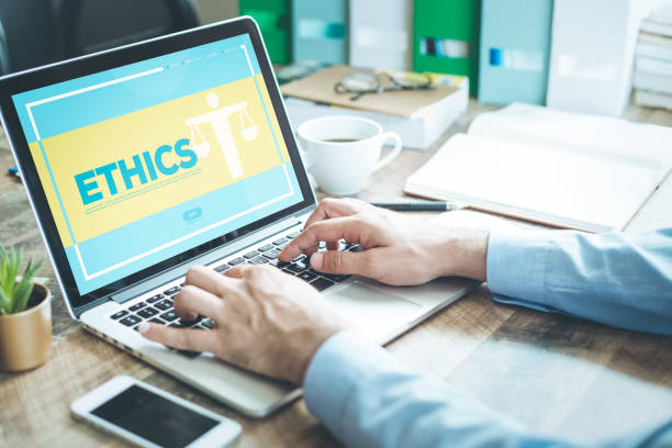 ethics concept - responsible business stock photos and pictures