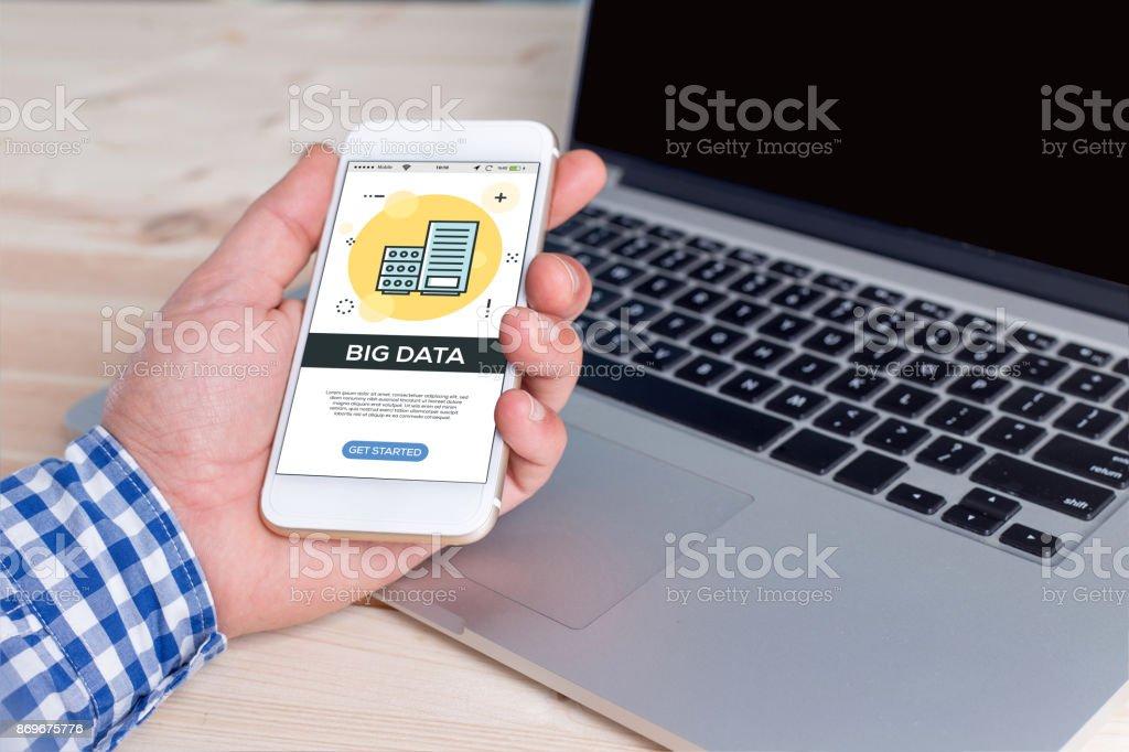 BIG DATA CONCEPT stock photo