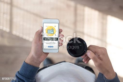 istock SECURE PAYMENT CONCEPT 870057710