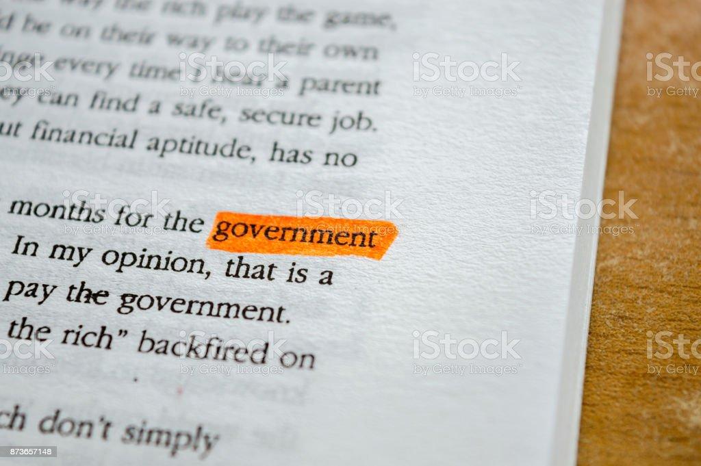 GOVERNMENT stock photo